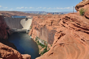 Glen Canyon Dam (1956 - 1964) - USA Arizona
